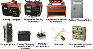 Amptron Products - Battery Chargers, Test Benches & Workshop Equipment