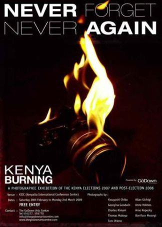 Kenya Burning Exhibition