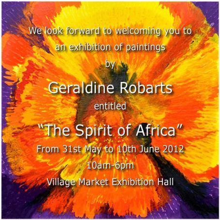 Geraldine Robarts' Spirit of Africa