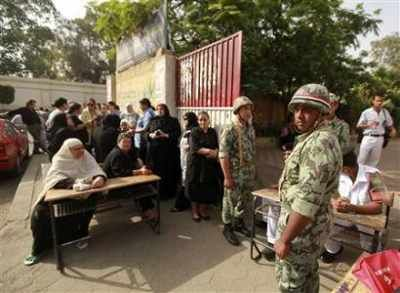 Egyptians vote for president