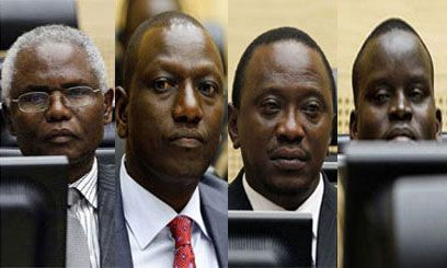 ICC rejects appeal of Kenyan Four