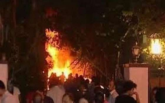 Shafiq's Cairo office set ablaze after election results