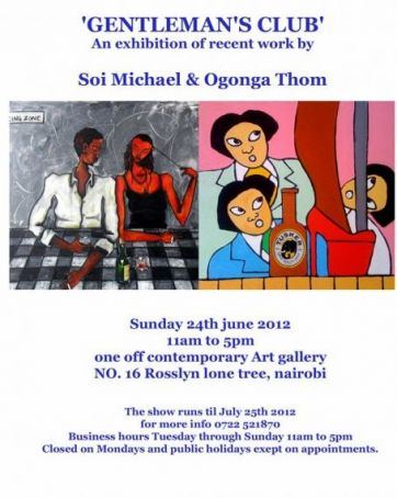 Recent Works by Michael Soi and Ogonga Thom