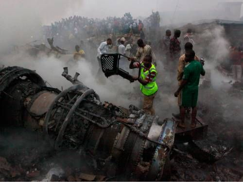 Nigeria in mourning after air crash