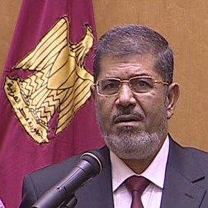 Mursi takes office as Egypt's president