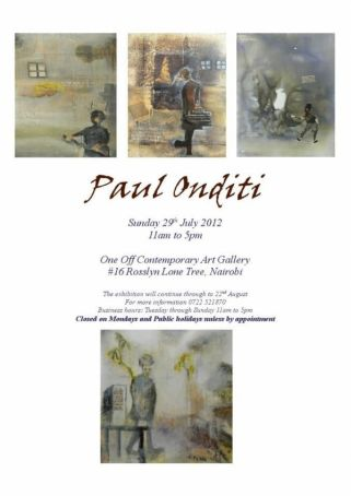 Exhibition by Paul Onditi