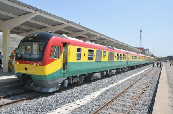 Accra-Tema train service suspended for works