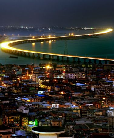 Repair works on Lagos Third Mainland Bridge