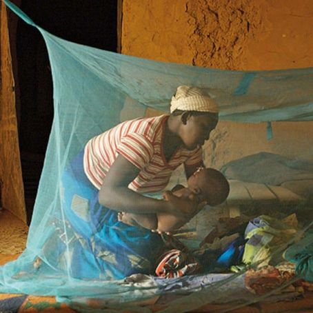 Mosquito nets distributed in Accra