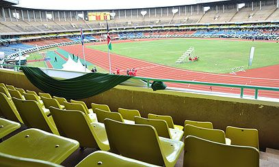 Nairobi's refurbished Kasarani stadium