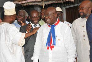 Ghana presidential candidates pledge peace