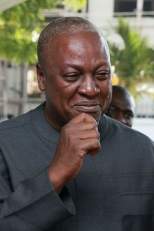 Mahama re-elected Ghanaian president