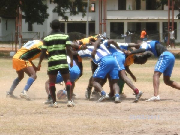 Rugby tournament in Accra