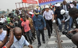 First phase of Lagos light rail by June