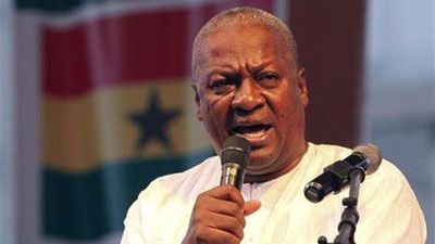 President John Mahama sworn in