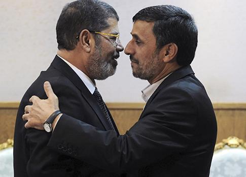 Iranian leader on historic visit to Cairo