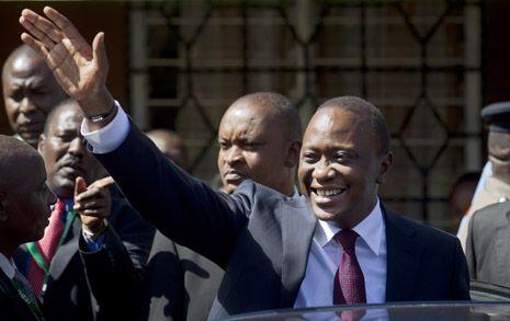Uhuru Kenyatta proclaimed Kenya's new president