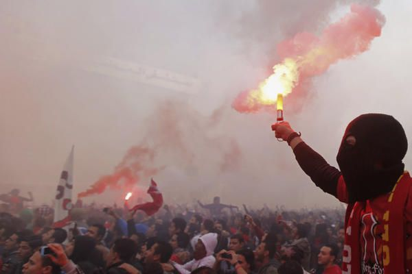 Violence in Cairo after Port Said stadium ruling