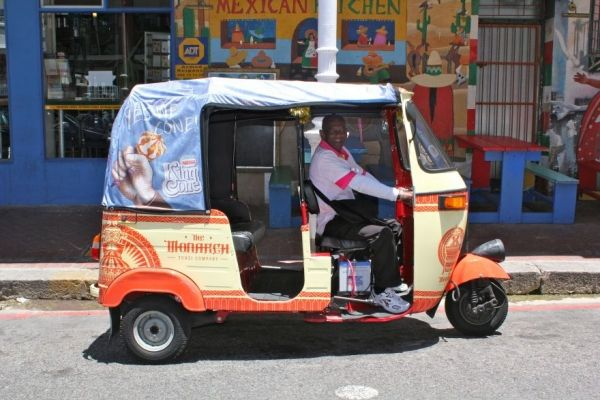 Cape Town gives limited go-ahead to tuk-tuks