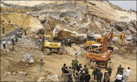 Arusha quarry collapse