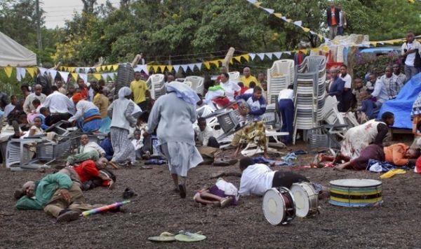Bomb attack on Arusha church