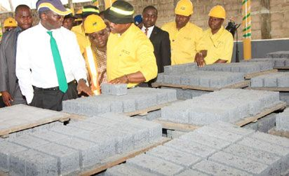 Lagos to use paving stones