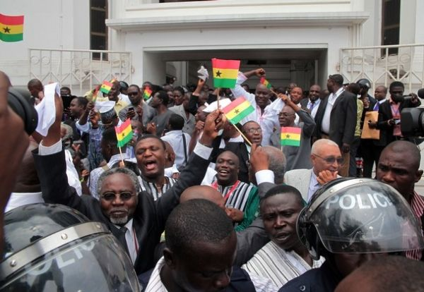 Supreme Court upholds Ghanaian election