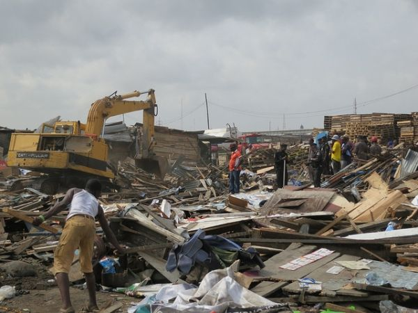 Lagos steps up demolition of illegal buildings