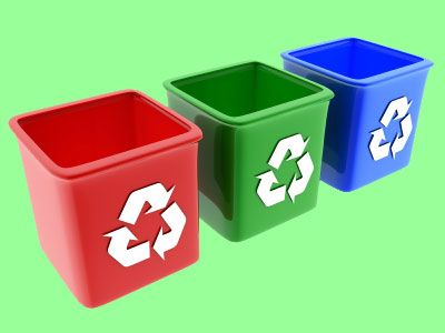 Differentiation of waste in Accra
