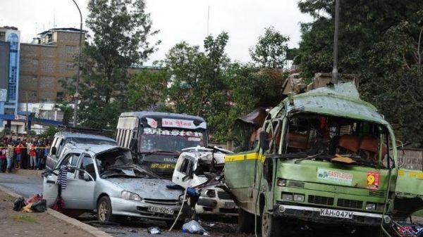 Six dead in Nairobi grenade attack