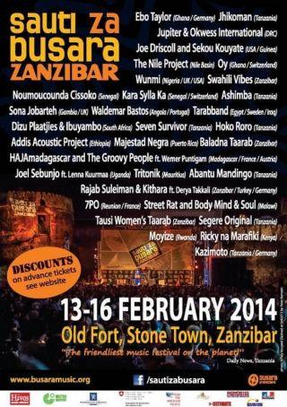 Zanzibar Stone Town Festival