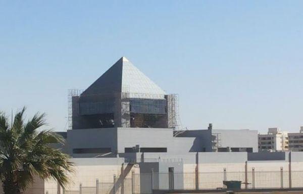 New Cairo museum under construction