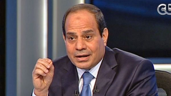 Sisi says Muslim Brotherhood will not return