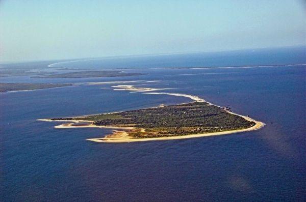 Rising sea level in Maputo Bay