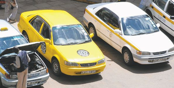 Taxis to be regulated in Nairobi