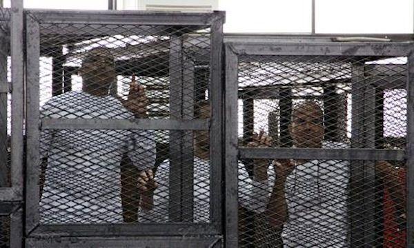 Egypt sentences foreign journalists