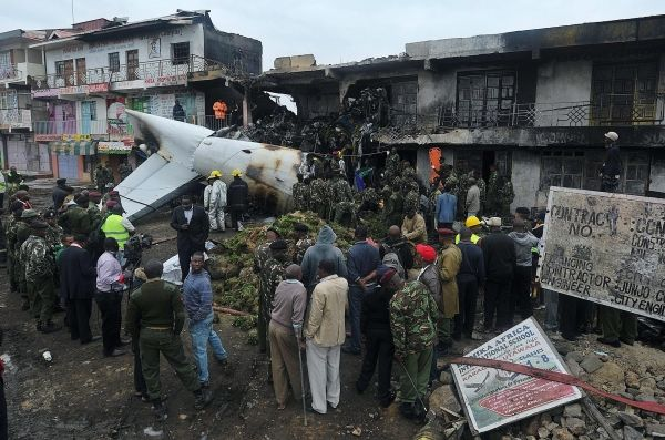 Four dead in Nairobi plane crash