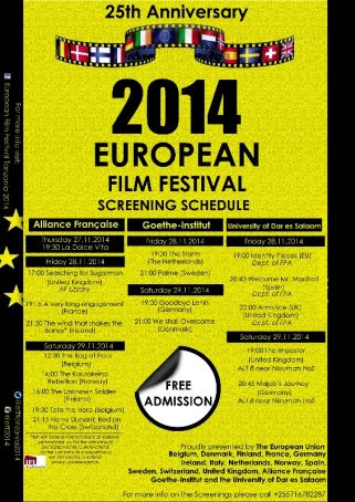 European film festival in Dar es Salaam
