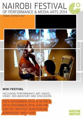 Nairobi festival of performing arts