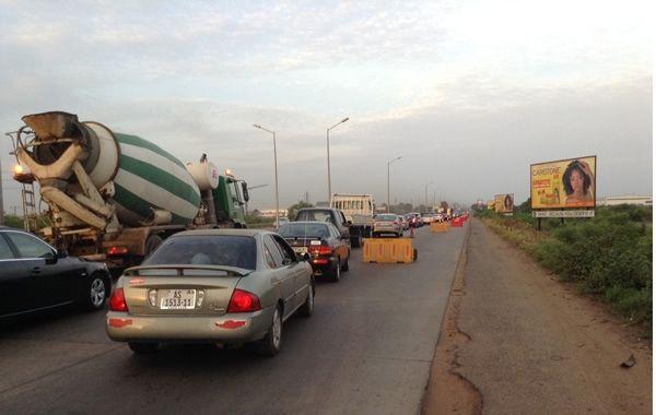 Expansion of Accra-Tema motorway