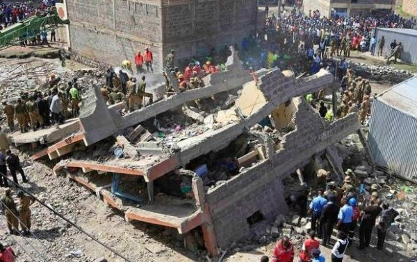 Investigation into Nairobi building collapse