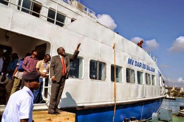 New ferry between Dar es Salaam and Bagamoyo