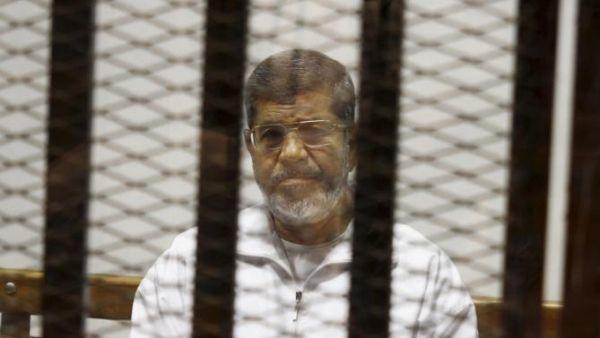 Morsi sentenced to death