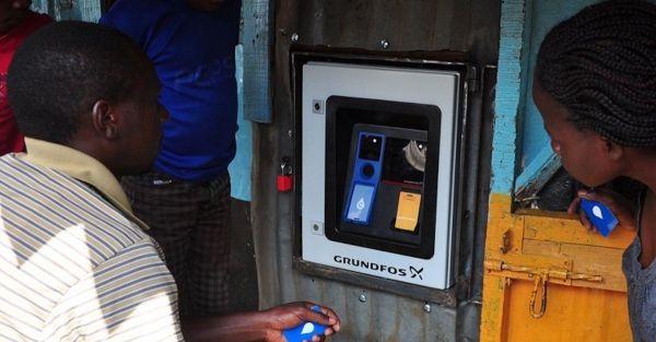 Nairobi water vending machines