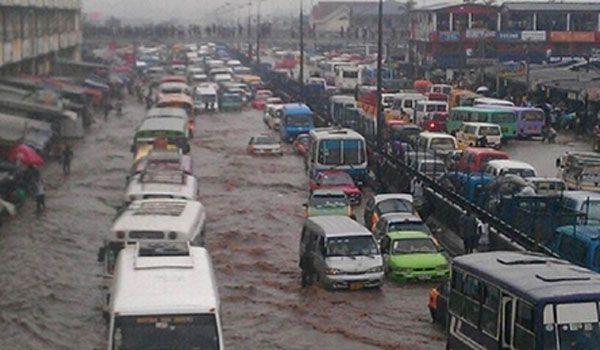 Authorities demolish Accra slum to prevent floods