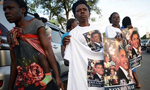 Heavy security in Nairobi for Obama visit