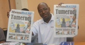 Tanzania newspaper returns after three-year ban