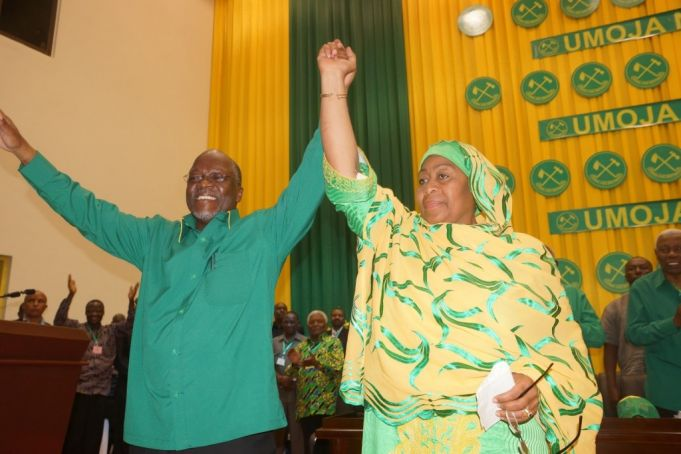 Tanzania's ruling CCM wins election