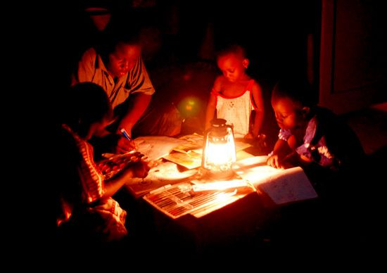 Ghana promises end to black outs