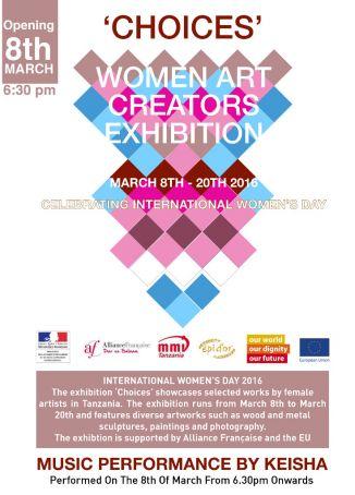 Choices exhibition in Dar es Salaam
